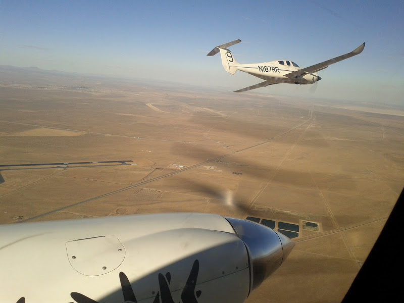 Rutan Boomerang Aircraft Air Shot